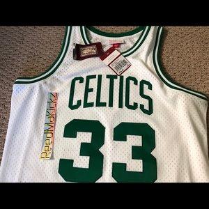 6d164190407 Mitchell & Ness Shirts - Larry Bird Celtics Mitchell & Ness Swingman Jersey